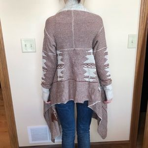 BB Dakota Sweaters - BB Dakota Keanu Sioux Cardigan open front tribal